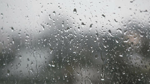Rain on Window Live Action