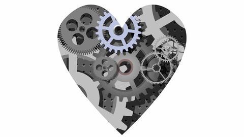Mechanical heart Animation