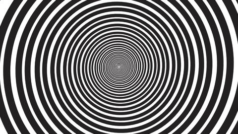 Hypnotic rotating spiral - seamless loop Animation