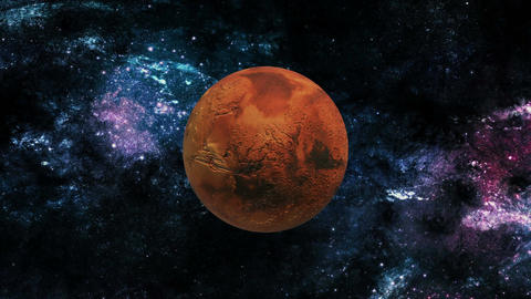 Mars in Space Live Action