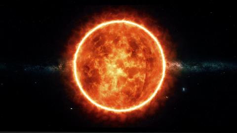 Sun rotation GIF