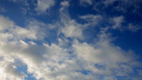 Blue clouds Footage
