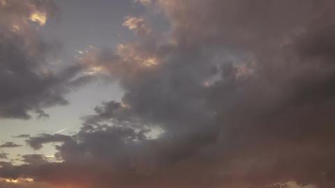Timelapse sunset GIF
