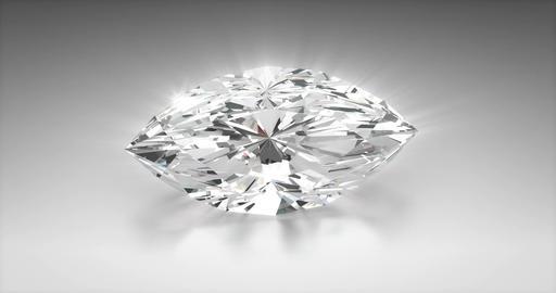 Marquise Cut Diamond Animation