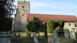 Holy Trinity church Cookham Berkshire UK 1 Footage
