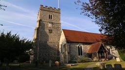 Holy Trinity church Cookham Berkshire UK 2 Footage