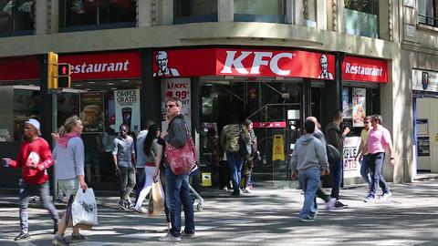 KFC Restaurant ビデオ