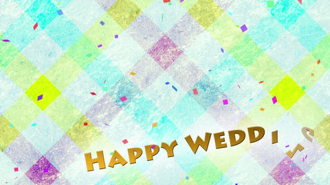 HAPPY WEDDING Hanaguku Stripe CG CG動画