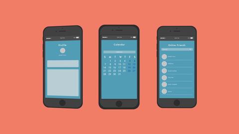 Phone App Presentation After Effectsテンプレート