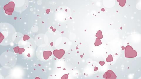 4k Fast Valentine Background Live Action