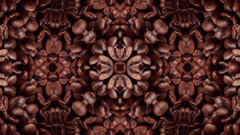 18 coffe kaleidoscope Animation