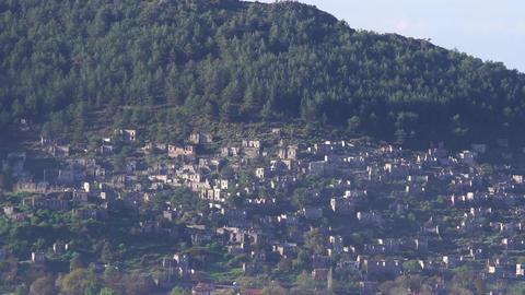 Fethiye Turkey Ancient Village Kayakoy Footage