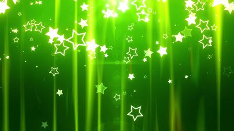 SHA Star BG image Green CG動画