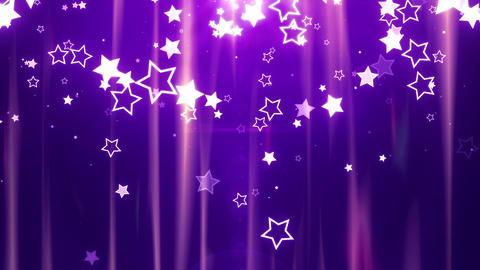 SHA Star BG image Violet CG動画