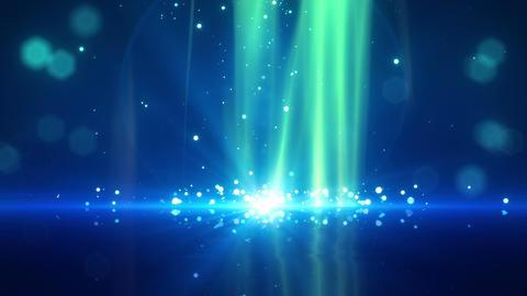 SHA Particle Bounce BG Blue Animation