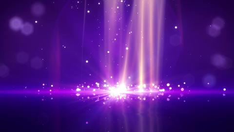 SHA Particle Bounce BG Violet Animation