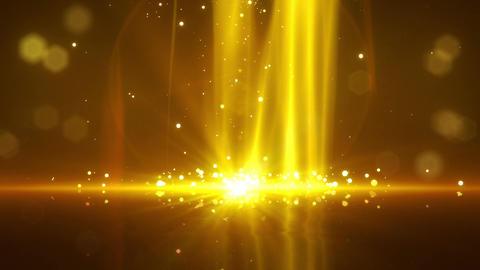 SHA Particle Bounce BG Yellow Animation