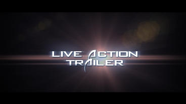 Live Action Trailer After Effectsテンプレート