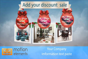 Company Discount Sale Promo After Effects Template