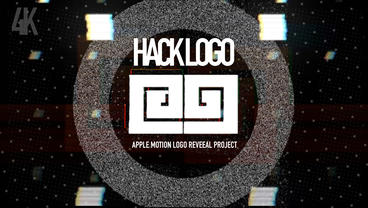 HACK LOGO Reveal Apple Motionテンプレート