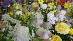 Theydon Bois village flower show Essex UK