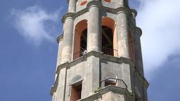 Cuba Tourism: Manaca Iznaga tower in Trinidad, Cuba Footage