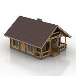 House 3D Model 3D