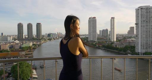 Pretty Thai Woman Live Action