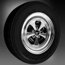 Wheel tire Car muscle wheel 3D Model
