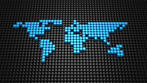 World Map Animation Animation