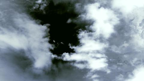 Dark Clouds Ominous Future Stock Video Footage