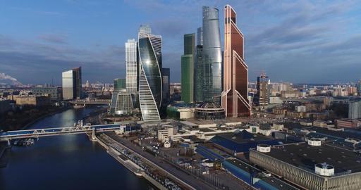 Skyscraper Moscow city