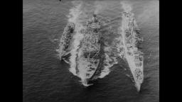 Cuban Missile Crisis 1962 - U.S. Imposes Naval Blockade of Cuba Footage