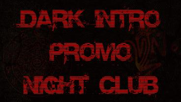 Dark intro promo night club Apple-Motion-Projekt