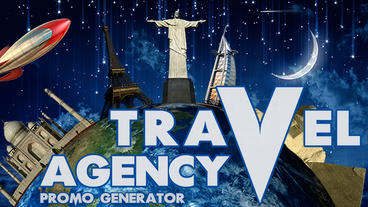 Travel agency promo generator Apple Motion-Vorlage