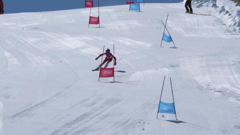 Manuel Ramos during the Ski National Championships Footage