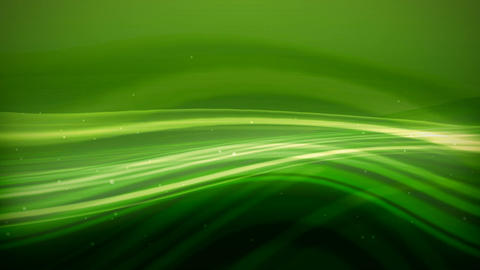 Abstract wavy green background HD Animation