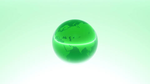Earth green 01 CG動画