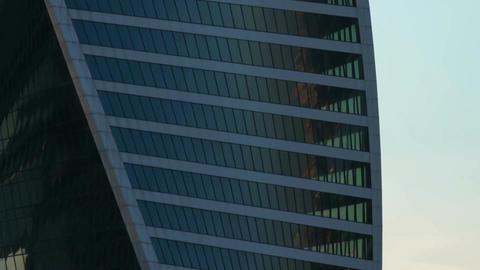 Skyscraper business center Footage