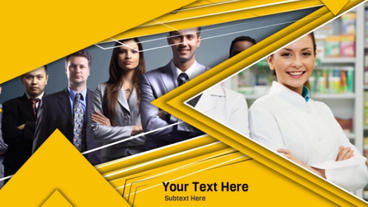 Yellow Business After Effects Template