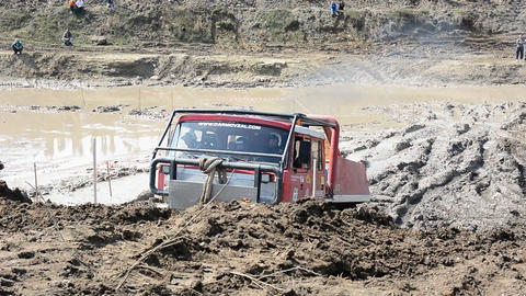 Off Road Truck Trial Championship Live Action