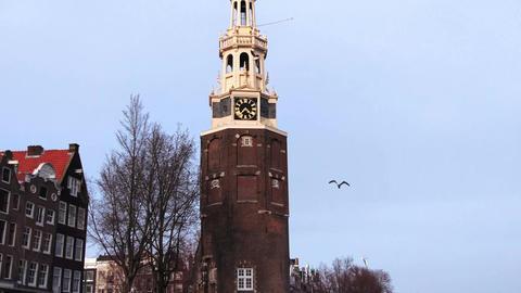 Canals of Amsterdam. Oudeschans 2