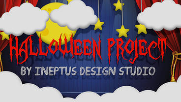Halloween project Plantilla de Apple Motion