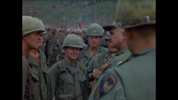 Vietnam War - General Westmoreland Talking To Troops 1966 Filmmaterial
