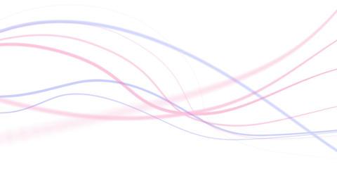 CG 背景 糸 結 Animation
