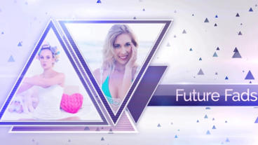 Triangle Fashion After Effects Project