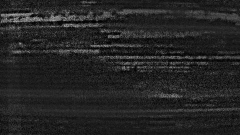 Black And White Strobbing Digital Damaged Noise Abstract Background Animation