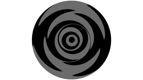 Loop Rotation Yin-Yang Animación