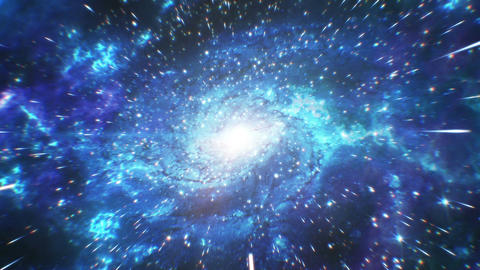 Beautiful Big Bang Universe Creation. Huge First Explosion and Creation of Stars Animation