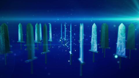 SHA Sword BG Blue Animation